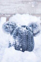 Czapka Little Bear Grafitowa