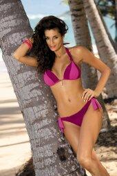 Kostium kąpielowy Amber Cardinale-Disco M-260 Bordowo-różowy (51)