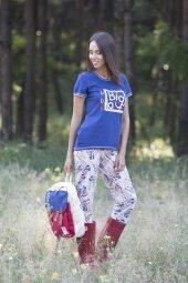 Piżama Big Love 546 Różowo-Granatowa