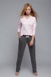 Piżama Emma różowa
