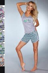 Piżama Puppy 720 Grey-Green (Szaro-zielona)