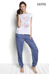 Piżama Sky T-shirt + długie spodnie 34226-09X, 34229-55X